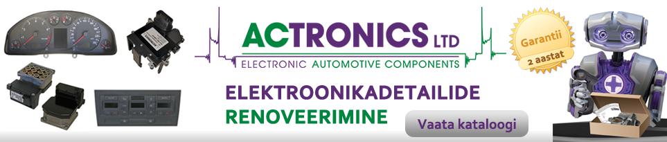 ACTRONICS - elektroonikadetailide renoveerimine